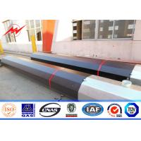 Buy cheap Double Cross Arm Round 69kv 10m joint type Steel Utility Pole Explosion - proof from Wholesalers