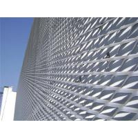 Buy cheap Exterior Facades Decoration Expanded Mesh Sheet SS 304 316 With 0.5-8mm Long Pitch from Wholesalers