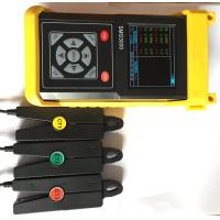 Buy cheap Double Clamp Three Phase Power Meter , 1~600V Handheld Power Quality Analyzer Meter from Wholesalers