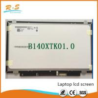 "Quality AUO B140XTK01.0 14"" IPS Laptop LCD Screen For Dell Laptop Spare Parts wholesale"