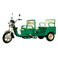 Buy cheap Electric Rickshaw 60V 1200W Three Wheels Brushless Passenger Electric Tricycle from Wholesalers
