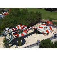 Buy cheap Fiberglass Big Snake Slide For Outdoor Water Park Professional Project from wholesalers