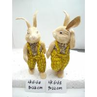Buy cheap Handmade rubbit,easter decoration,easter gifts,easter ornament,garden decoration,Holiday decorations from Wholesalers