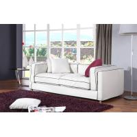 Buy cheap 2 and 3 Seater Modern Fabric Sofa Bed , White Simple Living Room Couch , single sofa loveseat sofa from Wholesalers
