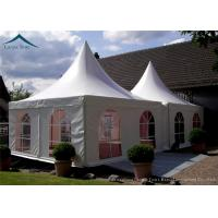 Buy cheap Portable But Durable Pyramid Pagoda Tents / Aluminium Frame/ PVC Fabric Covers from Wholesalers