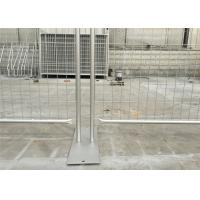 Buy cheap Long Lifespan Temp Fence Panels Metal Construction Fence OEM / ODM Available from Wholesalers
