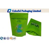 Buy cheap Zipper Top Aluminum Foil Stand Up Pouch 250g Customized For Slim Healthy Scented Tea from Wholesalers