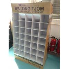 Buy cheap Custom Corrugated Cardboard Floor Standing Displays For Pet Foods from Wholesalers