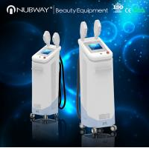 China Vertical IPL SHR&E-light hair removal equipment / machine on sale