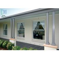 Quality Heat Insulation Vertical Opening Windows , Double Hung Replacement Windows for sale