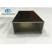 Quality Champagne Anodized Aluminium Extrusion  Profiles With Maximum 6.8 Meters wholesale