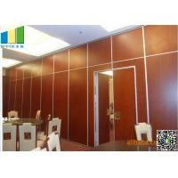 Buy cheap Restaurant Interior Acoustic Movable Partition Walls Single roller from Wholesalers