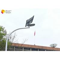 Buy cheap Road Smart  Solar LED Street Light With Polarized Bat - Wing Lens And Motion Sensor from Wholesalers