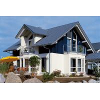 Buy cheap Russian Style Prefab House Villa / Light Steel Frame Pre Manufactured Homes from Wholesalers