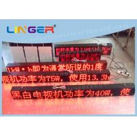 Buy cheap P10 Led Sign Programmable , Electronic Scrolling Sign For Advertisement from Wholesalers