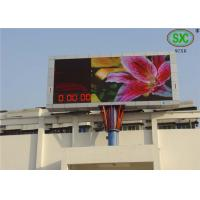 Buy cheap High Refresh Frequency Electronic Full Color P10 Programmable Outdoor LED Video Display Board from Wholesalers