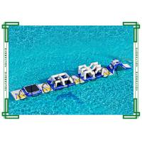Backyard Inflatable Water Parks for Adults , Floating Obstacle Course