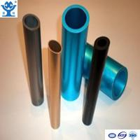 Customized extruded anodized aluminum tubing with different colors
