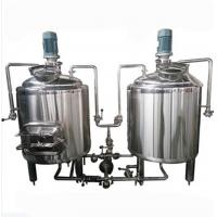 2 BBL Pub Mini Nano Brewery Equipment Electric Heating With Double Rollers