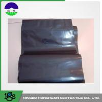 Quality 0.05mm Waterproof HDPE Geotextile Liner / Geomembrane Liner Black For Mining Liners wholesale