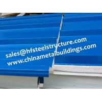 Buy cheap Chinese Design EPS Sandwich Panels For Walk In Cold Room 1150 Width from wholesalers