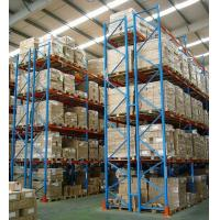 Buy cheap 800KG - 5000KG steel Heavy Duty Pallet Racking system customized with plastic pallet from Wholesalers