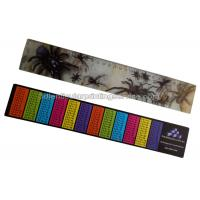 Quality PET / PP Printing Customised 3d Lenticular Ruler For Student Flip Effect wholesale