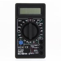 Buy cheap Mini Digital Multimeter with Buzzer Voltage Ampere Meter Test Probe DC AC LCD from Wholesalers