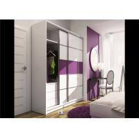 Buy cheap Particle Board Walk In Wardrobe Eco - Friendly With Mirror Sliding Door from Wholesalers