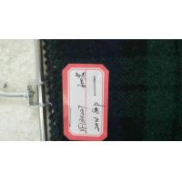 Buy cheap One Sided Green Tartan Fabric 20% Wool , Scottish Plaid Fabric With Horizontal / Vertical Line from Wholesalers
