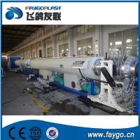 Buy cheap 110kw Pipe Making Machine 110-315mm PVC Pipe Extrusion Machine from Wholesalers