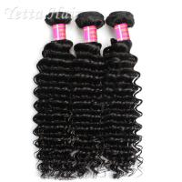 Buy cheap Deep Wave Cambodian Grade 6A Virgin Hair  Natural Black  No Terrible Smell from Wholesalers