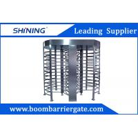Quality 30 Person / Min RFID Bi - Directional Full Height Turnstile With Double Channel wholesale