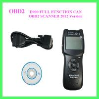 Buy cheap D900 FULL FUNCTION CAN OBD2 SCANNER 2012 Version from Wholesalers