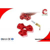 Buy cheap Red Color Small Size Industrial ABS Pneumatic Quick-Disconnect Lockouts from wholesalers