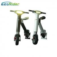 Quality Aluminium Alloy 48v Electric Foldable Bike , Folding Electric Bike Lg / Samsung Battery wholesale