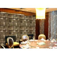 Buy cheap Embossed Stone Effect Contemporary Bedroom Wallpaper For Tv Wall Background from wholesalers