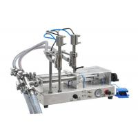 Buy cheap Essential Oil Filling Machine / Bottling Machine 50-5000ml Bottles Without Drop from Wholesalers