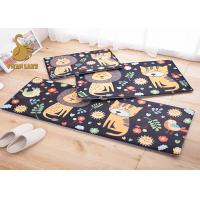 Buy cheap Breathable 100% Polyester Indoor Floor Carpet / Childrens Area Rugs from Wholesalers