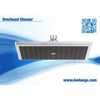 Buy cheap Ceiling Mounted Square Overhead Shower Head With Good Pressure Classical ABS from Wholesalers