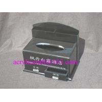 Buy cheap Factory custom black acrylic tissue box with drawer for hotel from Wholesalers