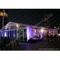 Quality 15x20M Transparent Cover Outdoor Party Tents Hard Extruded Aluminum Alloy wholesale