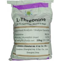 Buy cheap Light Brown Amino Acid Powder Odorless L-Threonine Assay 98.5% SAA-THRL985 from Wholesalers