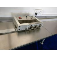 Buy cheap Auto PCB Separator Machine For LED Lighting T8 T5 Tube With Six Round Blades from Wholesalers