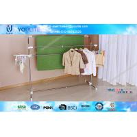 Buy cheap Multifunctional Steel Heavy Duty Clothes Drying Rack , Commercial Household Towel Racks from Wholesalers