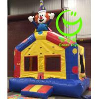 China 2016 hot sell Clown inflatable bouncer  with 24months warranty GT-BC-1838 on sale