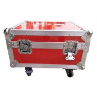 Cheap Luminous And Reflective Spot Red Rack Flight Case , Twelve Channel Motor Chain Hoist Power Case for sale
