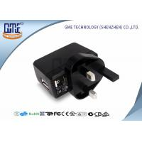 Buy cheap CE Universal Travel Adapter USB , Black UK AC DC Plug Adapter from Wholesalers