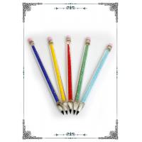 China 6.5 Inches Colorful Pen Tool For Smoking Water Pipes Accessories Oil Rig Dab on sale