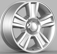 China Aluminum alloy wheel Chrome finish on sale